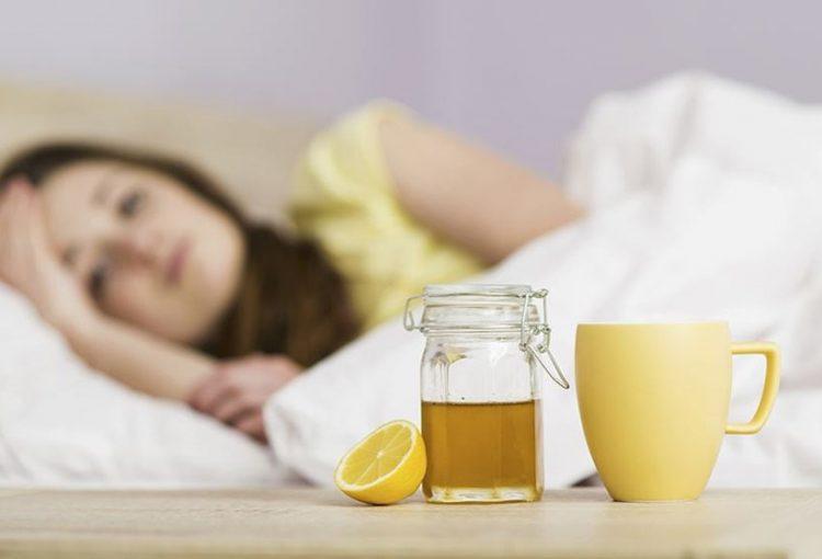 uống mật ong buổi tối
